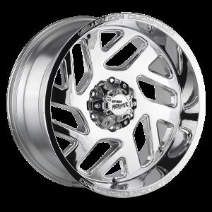 20x10 Off Road Monster Wheels M19 6x139.7 -19 ET 106.4 hub - Chrome