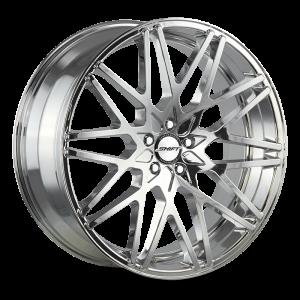 18x8 Shift Wheels Formula 5x100 30 ET 73.1 hub - Chrome