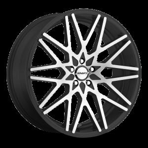 18x8 Shift Wheels Formula 5x100 30 ET 73.1 hub - Gloss Black Machined