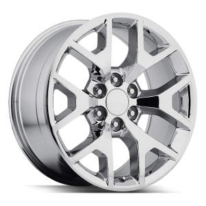 22x9 Strada OE Replica Wheels Gmc Sierra 6x139.7 15 ET 78.1 hub - Chrome