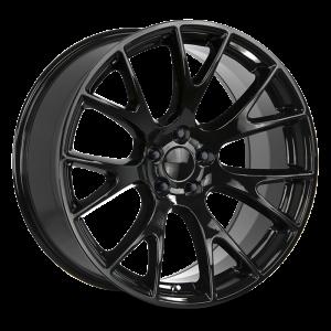 20x9.5 Strada OE Replica Wheels Hellcat 5x115 18 ET 71.6 hub - All Gloss Black