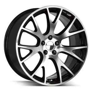 20x9.5 Strada OE Replica Wheels Hellcat 5x115 24 ET 71.6 hub - Gloss Black Machined