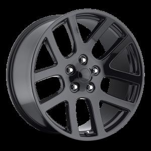 22x9 Strada OE Replica Wheels Srt10 5x115 40 ET 75.1 hub - All Gloss Black