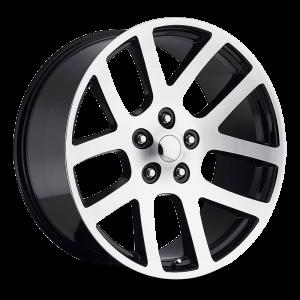 22x9 Strada OE Replica Wheels Srt10 5x115 40 ET 75.1 hub - Gloss Black Machined