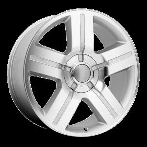 20x8.5 Strada OE Replica Wheels Texas Edition 5x127 15 ET 78.1 hub - Silver Machined
