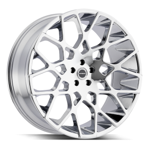 22x9.5 Strada Wheels Buca 5x115 35 ET 72.6 hub - Chrome