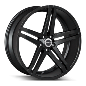 20x8.5 Strada Wheels Domani 5x114.3 30 ET 72.6 hub - All Gloss Black