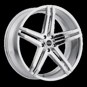20x8.5 Strada Wheels Domani 5x114.3 30 ET 72.6 hub - Chrome