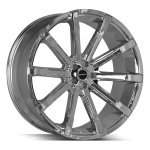 24x10 Strada Wheels Osso 5x115 24 ET 72.6 hub - Chrome