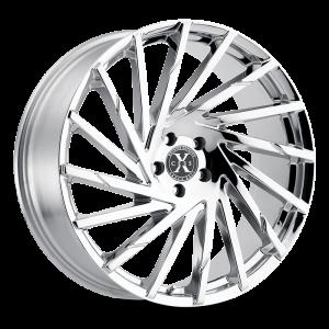 20x8.5 Xcess Wheels X02 5x114.3 35 ET 72.6 hub - Chrome