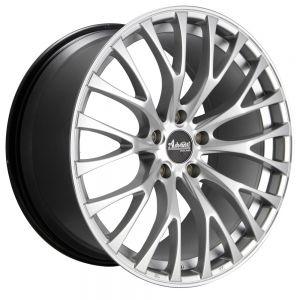 18x8 Advanti Racing Wheels 77S Fastoso 5x100 +35 Offset 73.00 Hub Silver
