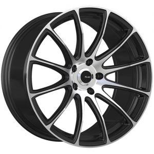 18x7.5 Advanti Racing Wheels 85MB Svelto 5x100 +45 Offset 73.00 Hub Matte Black