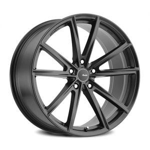 19x8.5 Advanti Racing Wheels 96B Torcere 5x112 +45 Offset 66.60 Hub Matte Black