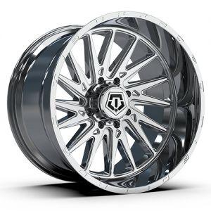 20x10 TIS Wheels 547C 5x139.7 -19 Offset 87.1 Hub Chrome