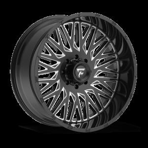 22x12 Fittipaldi Offroad Wheels FTC07BM 6x135 / 6x139.7 -44 Offset 106.2 Hub Black Milled
