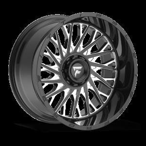 22x12 Fittipaldi Offroad Wheels FTC08BM 6x135 / 6x139.7 -44 Offset 106.2 Hub Black Milled