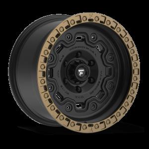 17x9 Fittipaldi Offroad Wheels FTC16BZ 6x139.7 -12 Offset 106.2 Hub Black Bronze