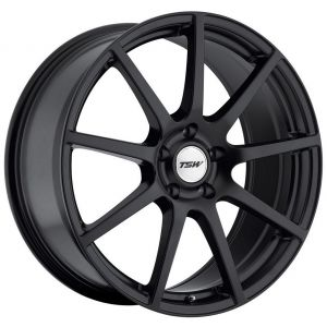 18x10.5 TSW Interlagos Matte Black (Rotary Forged)