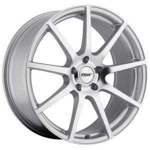 19x9.5 TSW Interlagos Silver w/ Mirror Face (Rotary Forged)