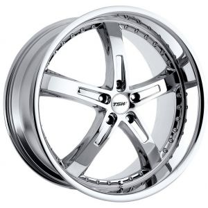 - Staggered full Set -(2) 18x8 TSW Jarama Chrome(2) 18x9.5 TSW Jarama Chrome