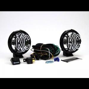 """KC Hilites Apollo Pro Series 6"""" Round Fog Beam Pair"""