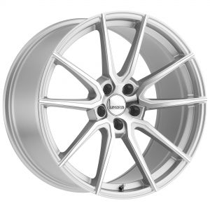 17x8 Lumarai Riviera HIGH GLOSS GUNMETAL