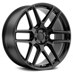 - Staggered full Set -(2) 18x8.5 Mandrus Otto Gloss Black(2) 18x9.5 Mandrus Otto Gloss Black