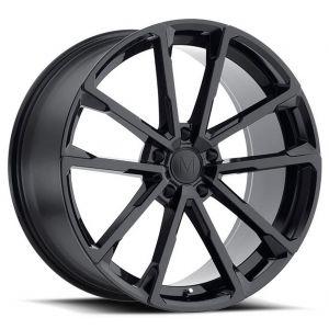22x10.5 Mandrus Wolf Gloss Black