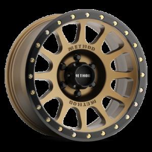 18x9 Method Race Wheels 305 Matte Bronze