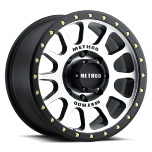 16x8 Method Race Wheels 305 Matte Black Machined