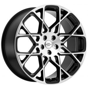 22x10 Redbourne Meridian Gloss Black w/ Mirror Cut Face