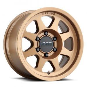 17x9 Method Race Wheels 701 Bronze
