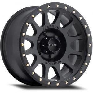17x8.5 Method Race Wheels 305 Matte Black