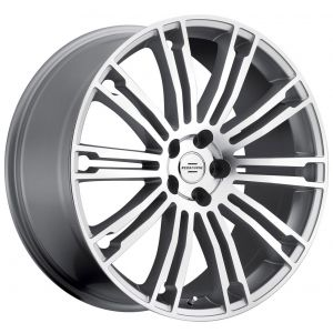 22x9.5 Redbourne Manor Gloss Silver w/ Machined Face