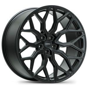 n4sm-vossen wheels hf6-3 wheel satin black