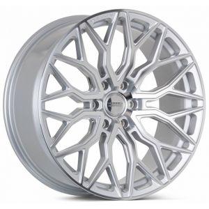 n4sm-vossen wheels hf6-3 wheel silver machined