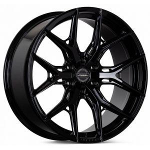 n4sm-vossen wheels hf6-3 wheel tinted matte gunmetal