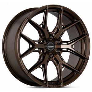 n4sm-vossen wheels hf6-4 wheel satin black