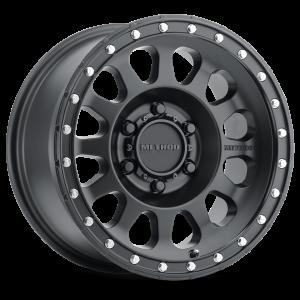17x9 Method Race Wheels 315 Matte Black