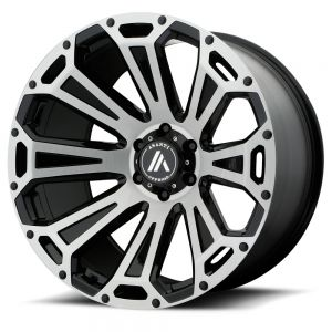 n4sm - need for speed motorsports  truck-wheel-    Asanti_AB814-Titanium-Brushed-8lug-1000_9093