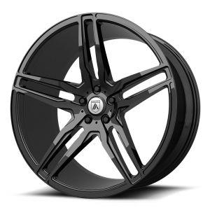 22x9 Asanti ABL-12 Gloss Black