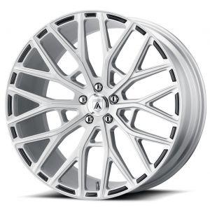 20x10.5 Asanti ABL-21 Brushed Silver
