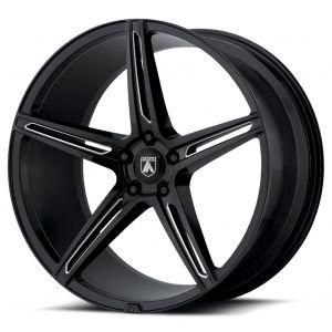 22x9 Asanti ABL-22 Gloss Black Milled
