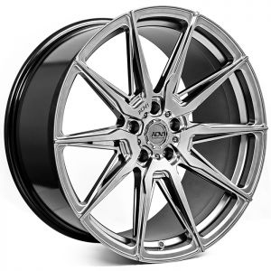 20x9.5 ADV.1 ADV5.0 Flow Spec Platinum Black