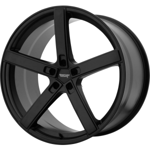 Staggered full Set - (2) 22x9 American Racing AR920 Blockhead Satin Black (2) 22x10.5 American Racing AR920 Blockhead Satin Black