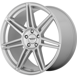 18x8 American Racing AR935 Redline Brushed Silver
