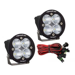 Baja Designs Squadron-R Sport Led Lights Flood Beam Pair