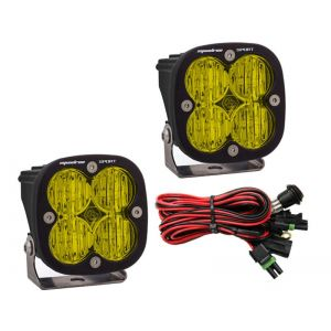 Baja Designs Squadron Sport Led Lights Driving Beam Pair Amber