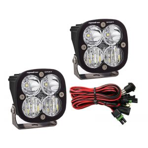 Baja Designs Squadron Sport Led Lights Driving/Spot Beam Combo Pair