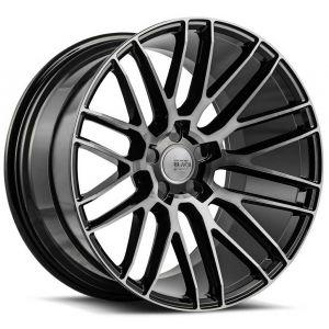 19x9.5 Savini Black Di Forza BM13 Gloss Black w/ Double Dark Tint Face (Concave)